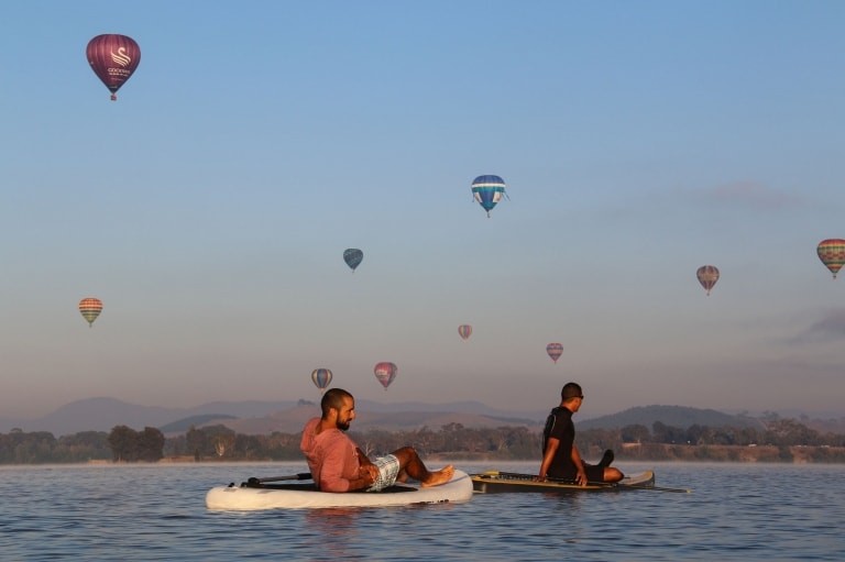 Lake Burley Griffin, Canberra, ACT © VisitCanberra