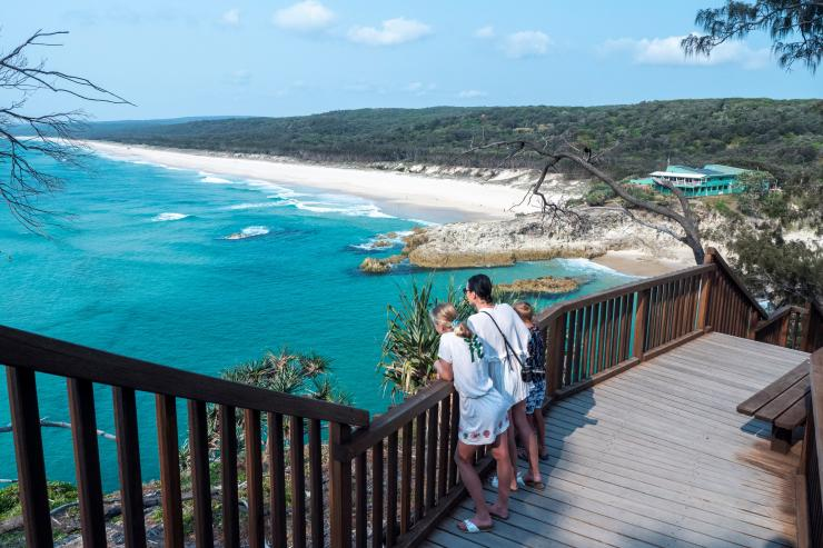 North Gorge Walk, North Stradbroke Island, QLD © Tourism and Events Queensland