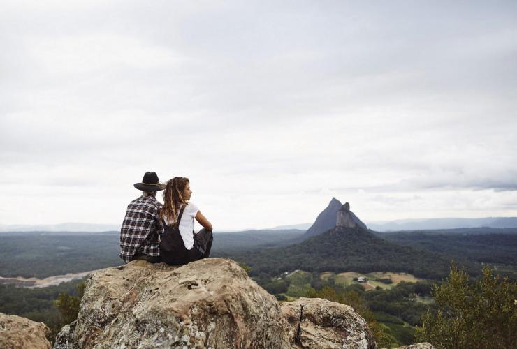 Mount Ngungun, Glass House Mountains, Sunshine Coast, QLD © Tourism & Events Queensland, Ming Namchong