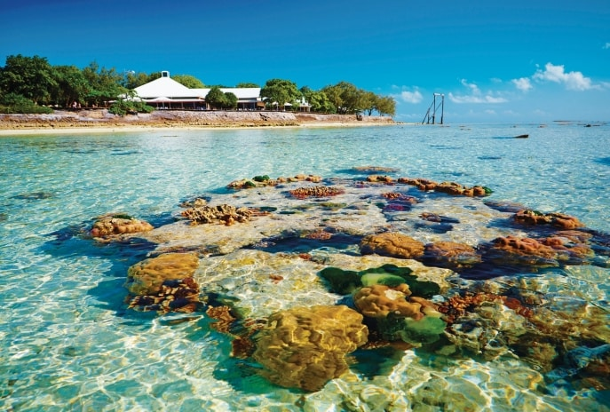 Heron Island, Great Barrier Reef, QLD © Tourism and Events Queensland