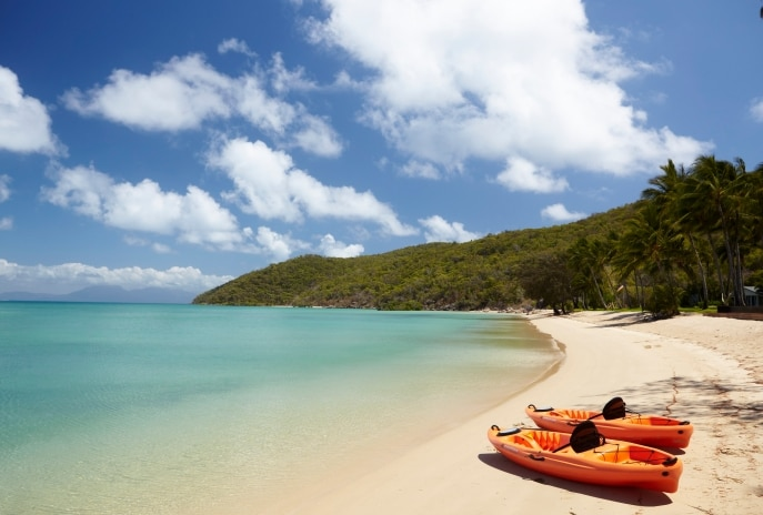 Orpheus Island, Great Barrier Reef, QLD © Tourism Events Queensland