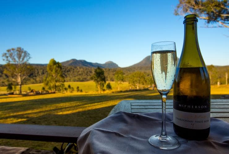 Scenic Rim Wine Trail by Spicers, Spicers Canopy Camp, Main Range National Park, QLD © Spicers Retreats, Great Walks of Australia
