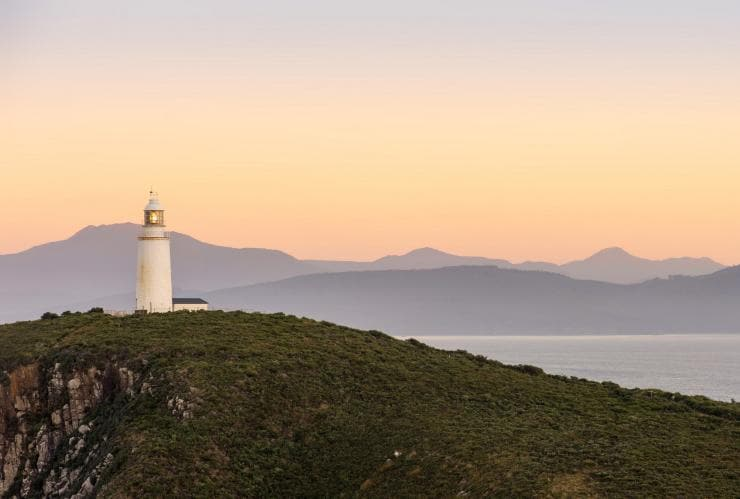 Cape Bruny Lighthouse, South Bruny National Park, Bruny Island, TAS © Tourism Tasmania, Rob Burnett