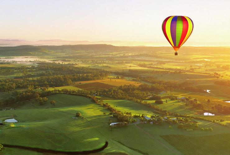 Balloon Aloft, Hunter Valley, NSW © Balloon Aloft, Destination NSW