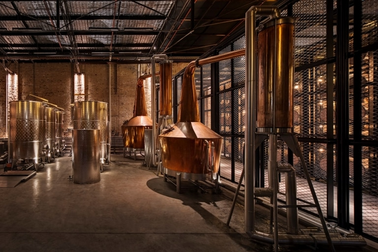 Archie Rose Distillery, Rosebery, NSW © Archie Rose
