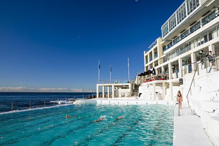 Bondi Icebergs, Bondi Beach, NSW. © Daniel Boud, Destination New South Wales