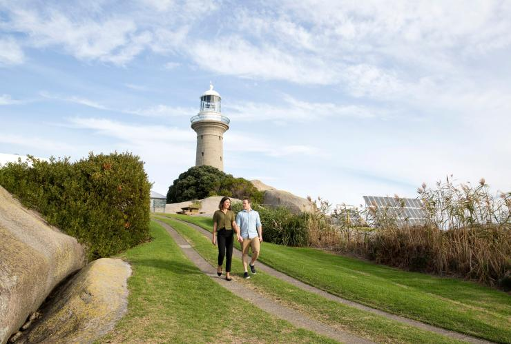 Montague Island lighthouse, Narooma, NSW © Destination NSW