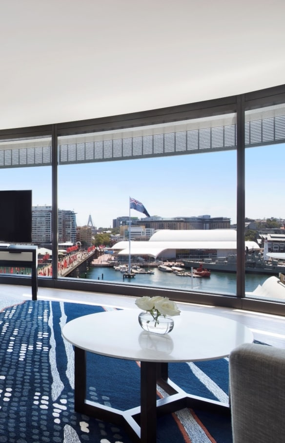 Kolam tak bertepi, SOFITEL Sydney Darling Harbour, Sydney, New South Wales © SOFITEL Sydney Darling Harbour