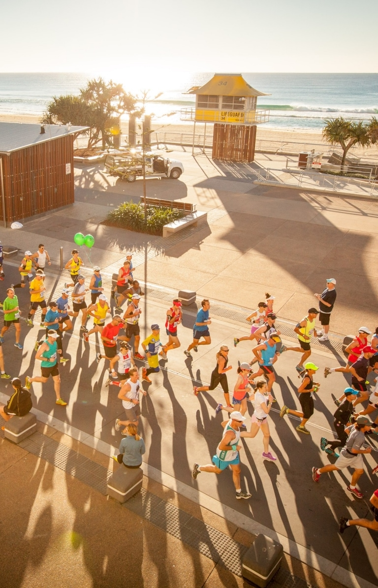 Gold Coast Airport Marathon, Gold Coast, QLD © Events Management Queensland