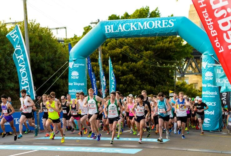 Blackmores Sydney Running Festival, Sydney, NSW © Destination NSW