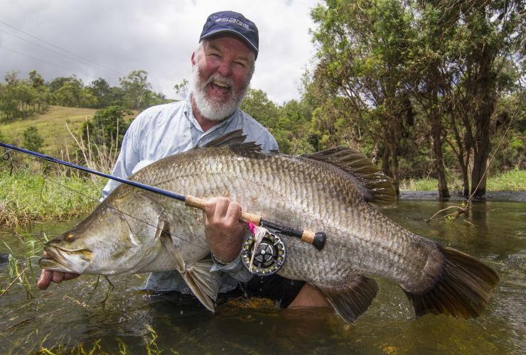 Barramundi, QLD © Peter Morse