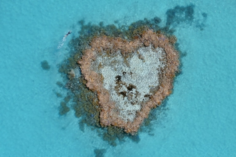 Heart Reef, Whitsundays, QLD © Tourism Australia