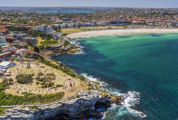 Jalur Bondi ke Bronte, Sydney, NSW © Destination NSW