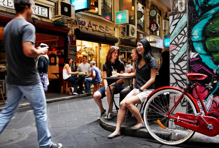 Laneways, Melbourne, VIC © Tourism Australia
