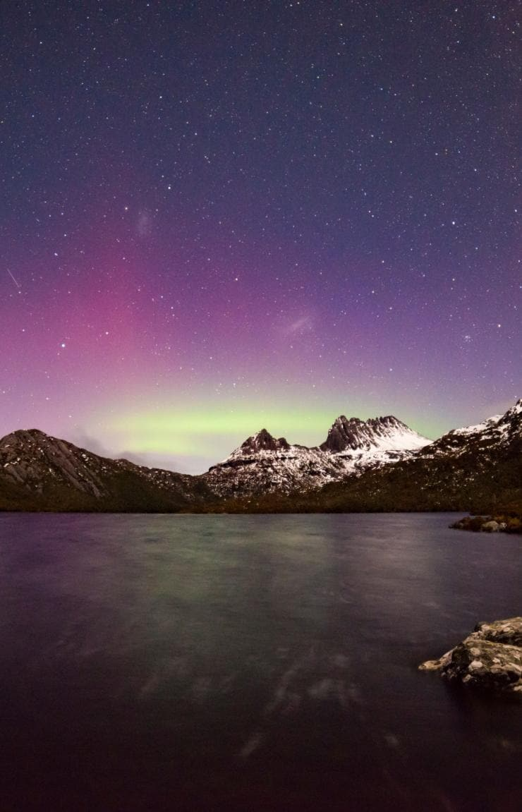 Aurora Australis, Cradle Mountain, Cradle Mountain-Lake St Clair National Park, TAS © Pierre Destribats