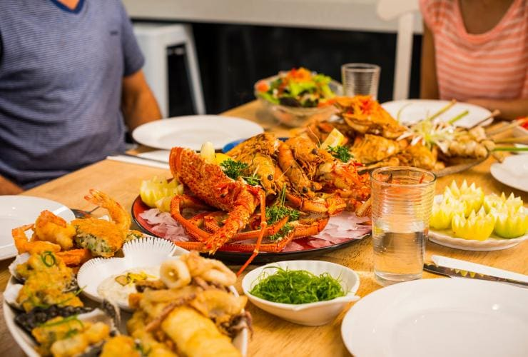 The Fresh Fish Place, Port Lincoln, SA © South Australian Tourism Commission