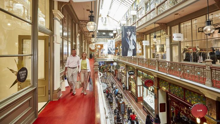 Strand Arcade, Sydney, NSW. © Lawrence Furzey/Destination NSW