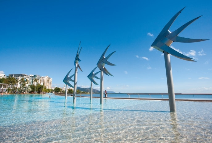 Cairns lagoon, Cairns, QLD. © Darren Jew/Tourism and Events Queensland