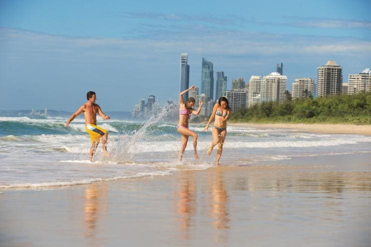 Main Beach, Gold Coast, QLD © Mark Toia, Tourism and Events Queensland