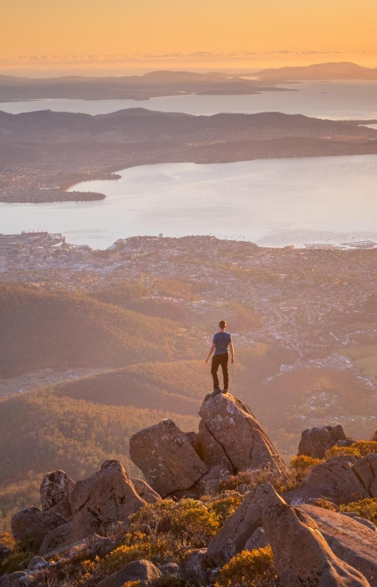 Mt Wellington, Hobart, TAS © Paul Fleming, Tourism Tasmania