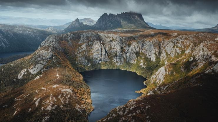 Cradle Mountain, Cradle Mountain-Lake St Clair National Park, TAS © Jason Charles Hill