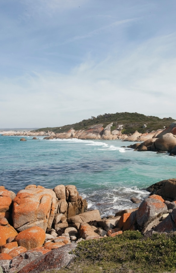 Binalong Bay, Bay of Fires Conservation Area, TAS © Tourism Australia