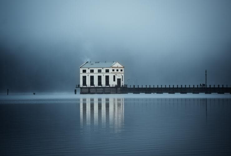 Pumphouse Point, Lake St Clair, TAS © Emilie Ristevski
