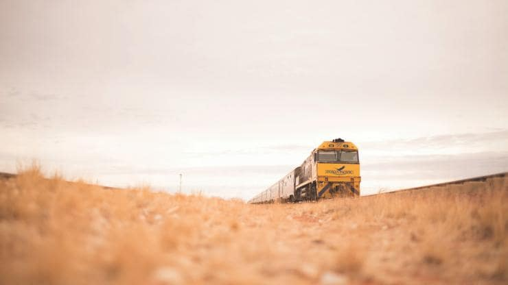 Indian Pacific, outback SA © Journey Beyond