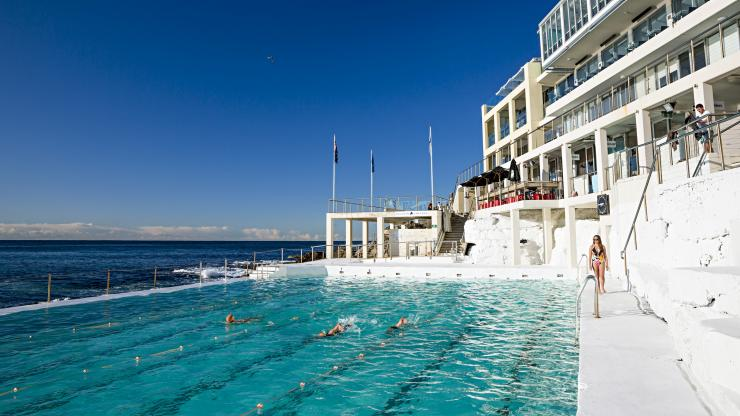 Bondi Icebergs, Bondi Beach, NSW. © Destination NSW