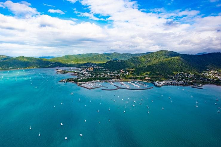 Airlie Beach, QLD © Tourism Whitsundays