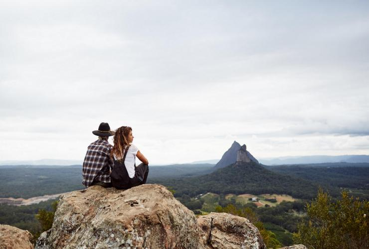 Mount Ngungun, Glass House Mountains, Sunshine Coast Hinterland, QLD © Ming Nomchong