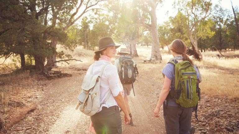 The Arkaba Walk, Ruger's Hill, Flinders Ranges, South Australia © South Australian Tourism Commission