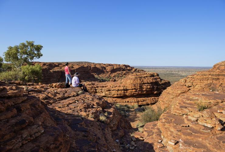 Rim Walk, Kings Canyon, Watarrka National Park, Northern Territory © Shaana McNaught, Tourism Northern Territory