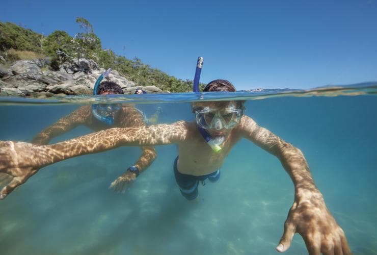 Snorkeling, Great Keppel Island, Queensland © Tourism and Events Queensland