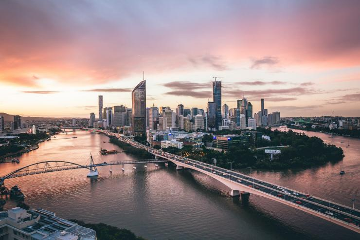 Brisbane River, Brisbane, Queensland © Brisbane Marketing