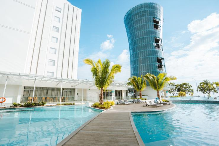 Red Peak Boardwalk, Skyrail Rainforest Cableway, Tropical North Queensland. © Skyrail Rainforest Cableway