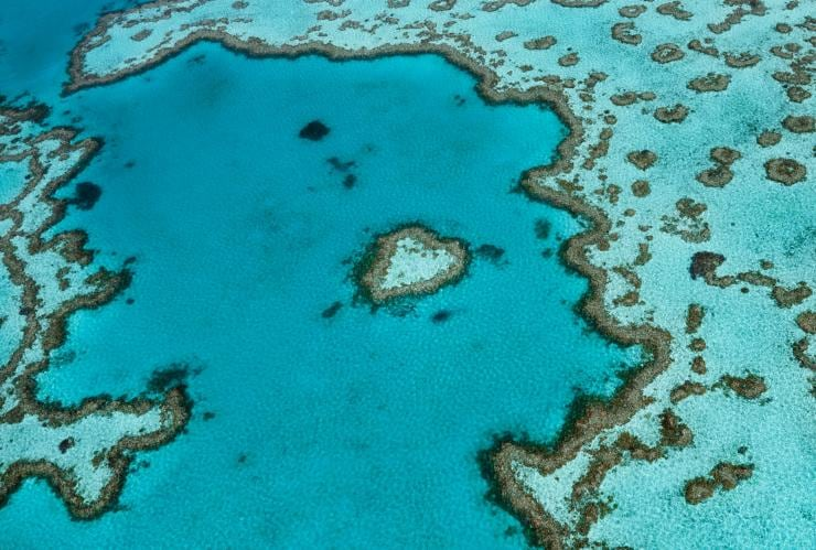 Heart Reef, Whitsunday, Queensland © Tourism & Events Queensland, Jason Hill