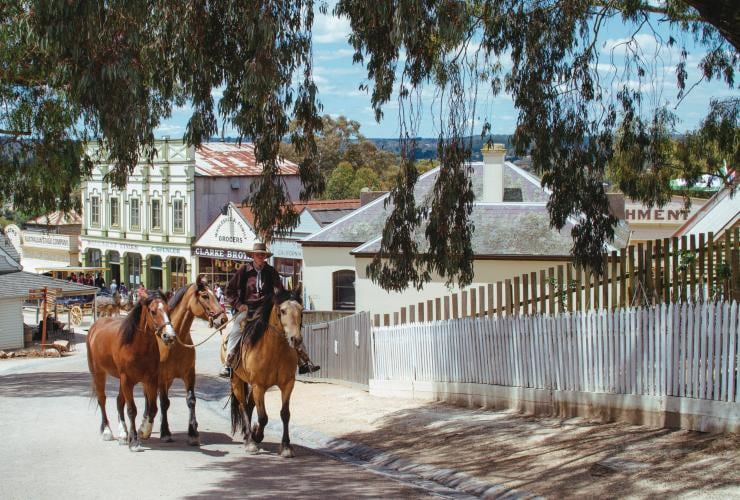 Sovereign Hill, Ballarat, Victoria © Tourism Australia
