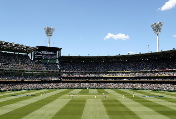 Boxing Day Test, Ashes series, Melbourne Cricket Ground, Melbourne, Victoria © Cricket Australia