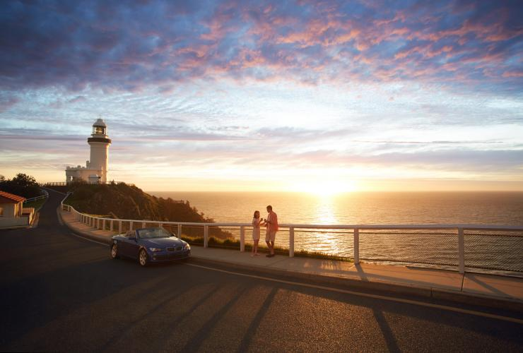 Faro di Cape Byron Bay, Byron Bay, New South Wales © Tourism Australia