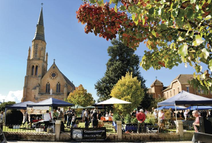Farmers Market, Mudgee, New South Wales © Amber Hooper