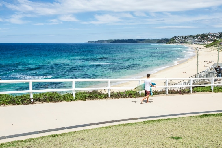 Merewether Beach, Newcastle, New South Wales © Tourism Australia