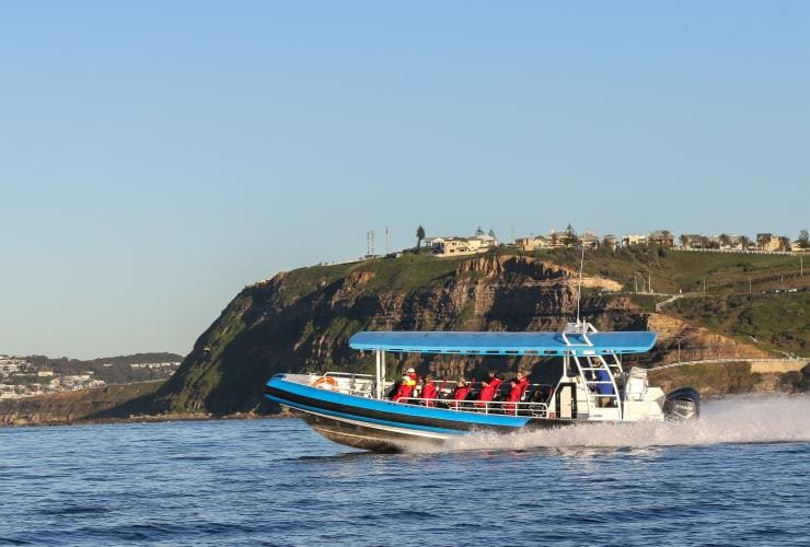CoastXP Adventure Boat, Newcastle, New South Wales © CoastXP
