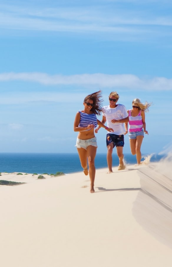 Dune di sabbia di Stockton Bight, Port Stephens, New South Wales © Tourism Australia