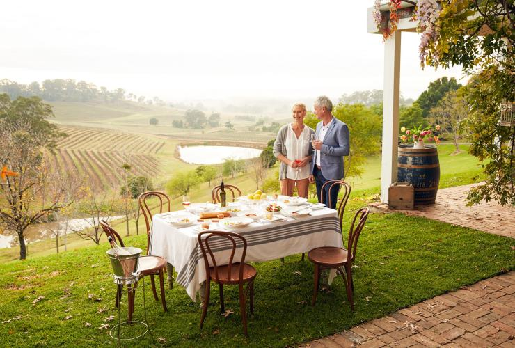 Bistro Molines, Hunter Valley, New South Wales © Tourism Australia