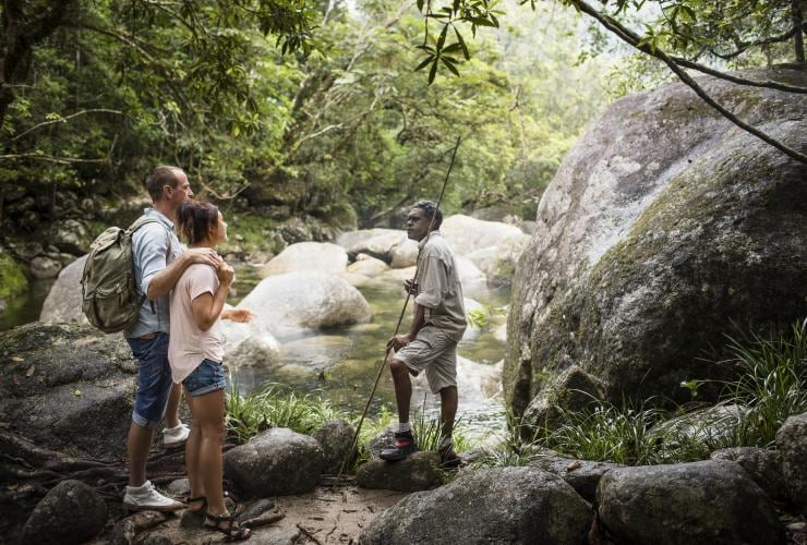 Voyages Indigenous Tourism Australia, Mossman Gorge Centre, Queensland © James Fisher, Tourism Australia