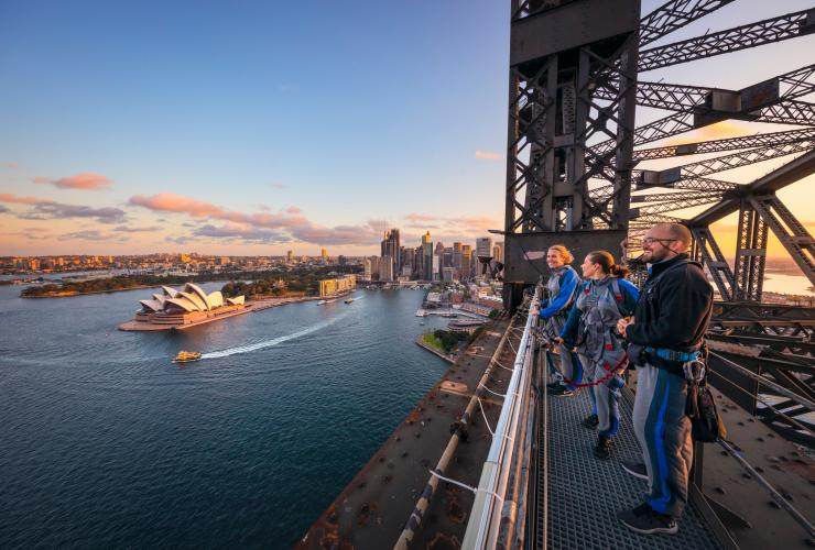 BridgeClimb Sydney, Sydney, New South Wales © Sydney Bridge Climb