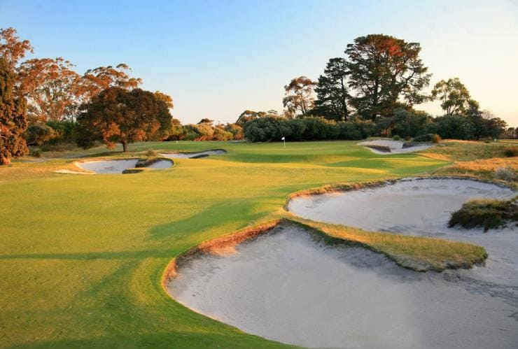 Kingston Heath Golf Club, Melbourne, VIC © Kingston Heath Golf Club