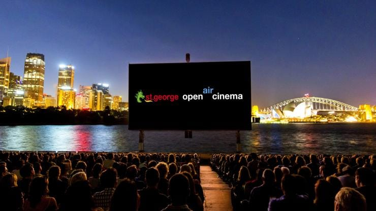 St George OpenAir Cinema, Sydney, New South Wales © Destination New South Wales