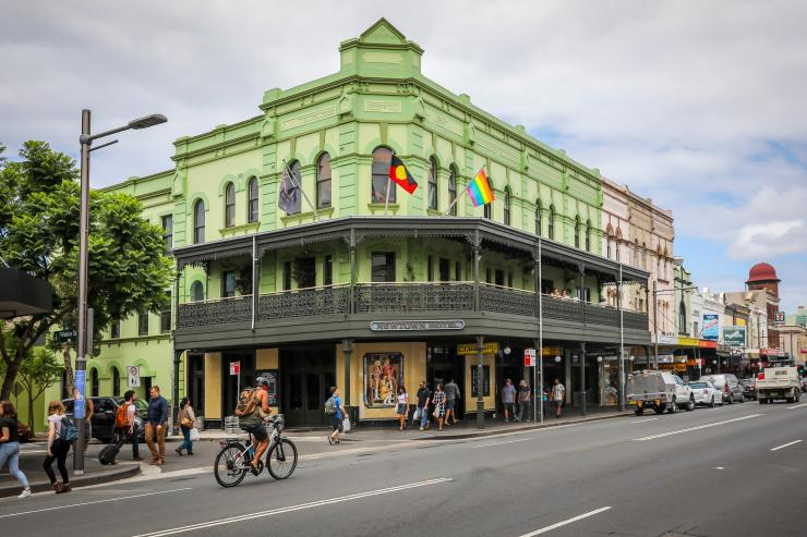 Newtown Hotel, Newtown, Sydney, New South Wales © City of Sydney, Katherine Griffiths